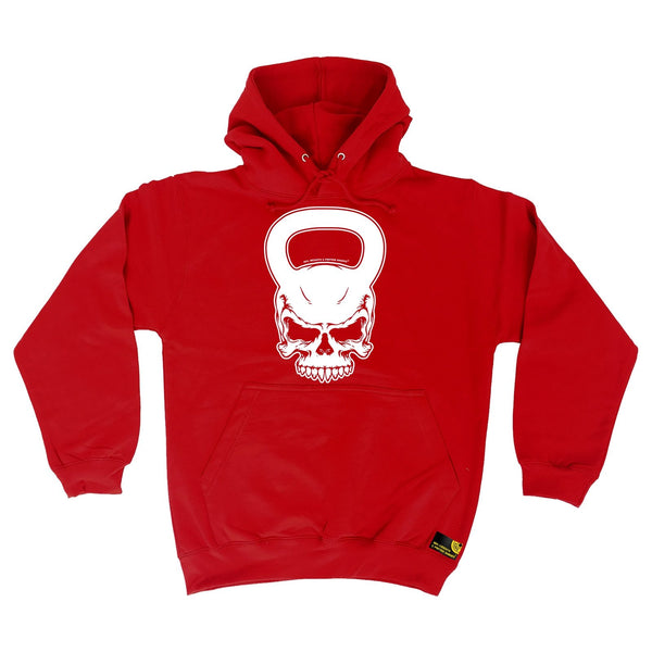 Sex Weights and Protein Shakes Kettlebell Skull Sex Weights And Protein Shakes Gym Hoodie