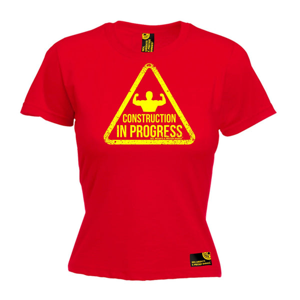 Construction In Progress Women's Fitted T-Shirt