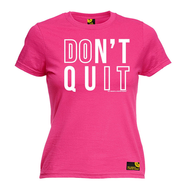 Don't Quit Women's Fitted T-Shirt