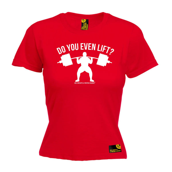 Do You Even Lift Women's Fitted T-Shirt