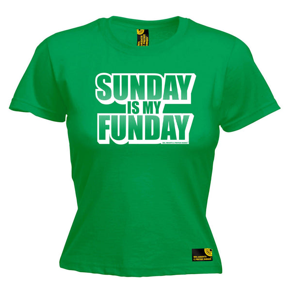 Sunday Is My Funday Women's Fitted T-Shirt