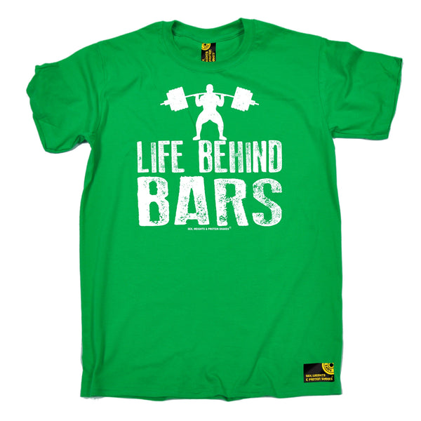 Life Behind Bars ... Weight Lifting T-Shirt