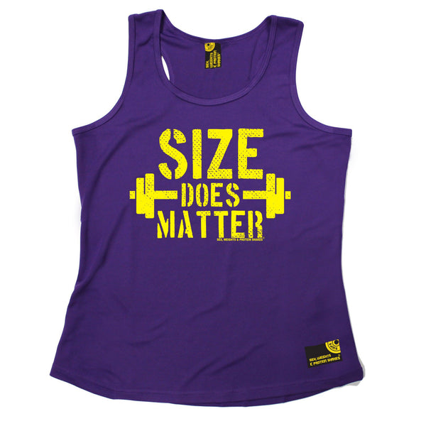 Size Does Matters Girlie Performance Training Cool Vest
