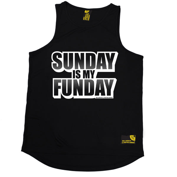 Sunday Is My Funday Performance Training Cool Vest