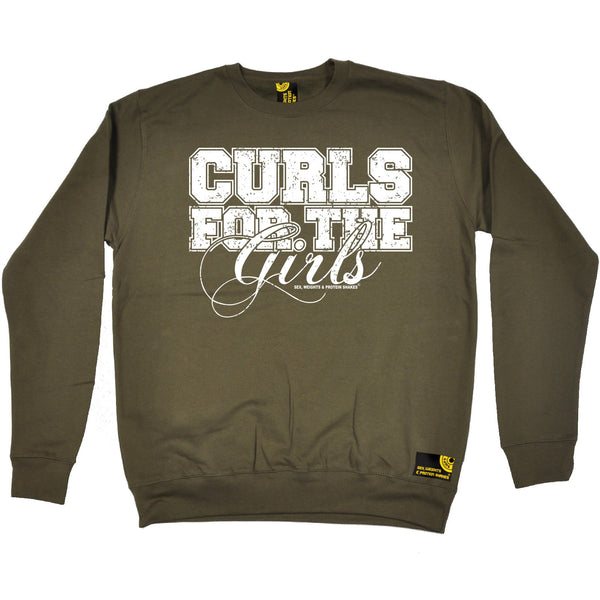 Curls For The Girls Sweatshirt