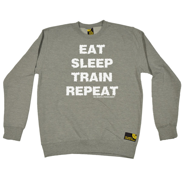 Eat Sleep Train Repeat Sweatshirt