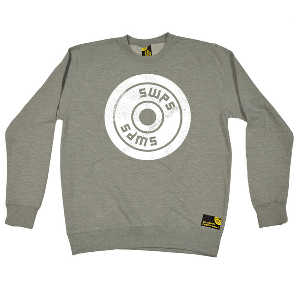 Weight Plate ... Big Logo Design Sweatshirt