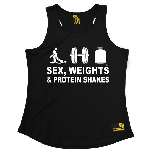 Sex Weights & Protein Shakes ... D3 Girlie Performance Training Cool Vest