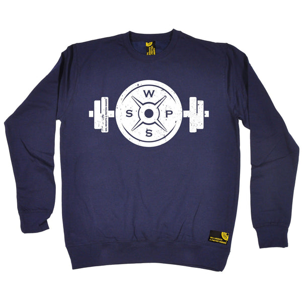 SWPS Weight Dumbbell Design Sex Weights And Protein Shakes Gym Sweatshirt