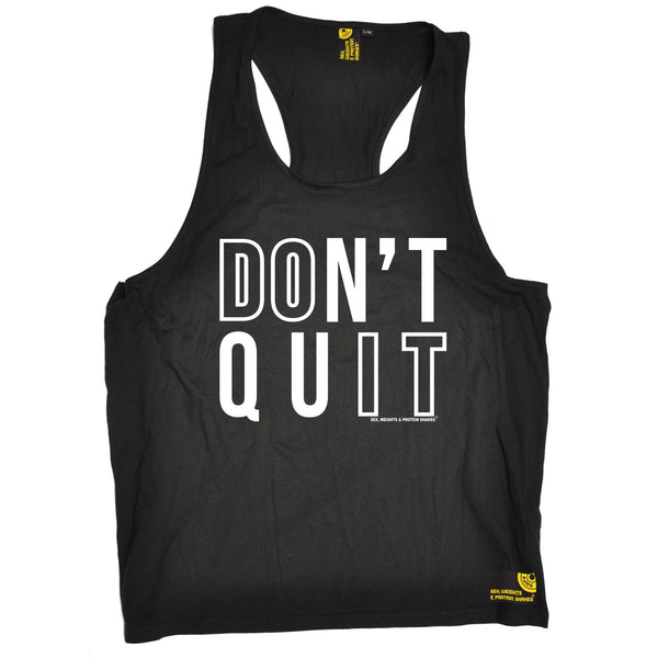 Sex Weights and Protein Shakes Don't Quit Sex Weights And Protein Shakes Gym Men's Tank Top