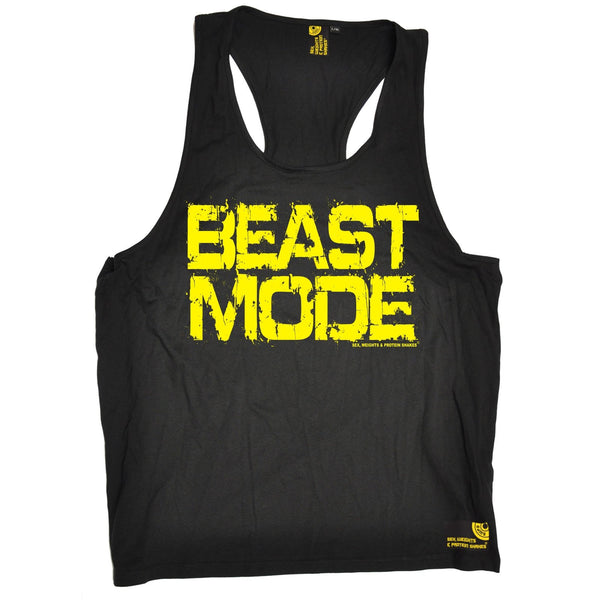 Sex Weights and Protein Shakes Beast Mode Sex Weights And Protein Shakes Gym Men's Tank Top