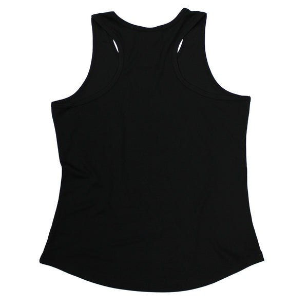 SWPS Weight Plate Breast Pocket White Sex Weights And Protein Shakes Gym Girlie Training Vest