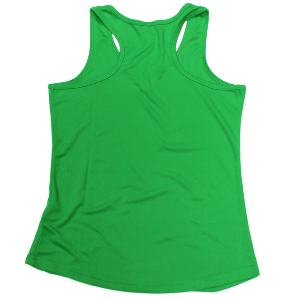 No I'm Not On Steroids ... As A Compliment Girlie Performance Training Cool Vest
