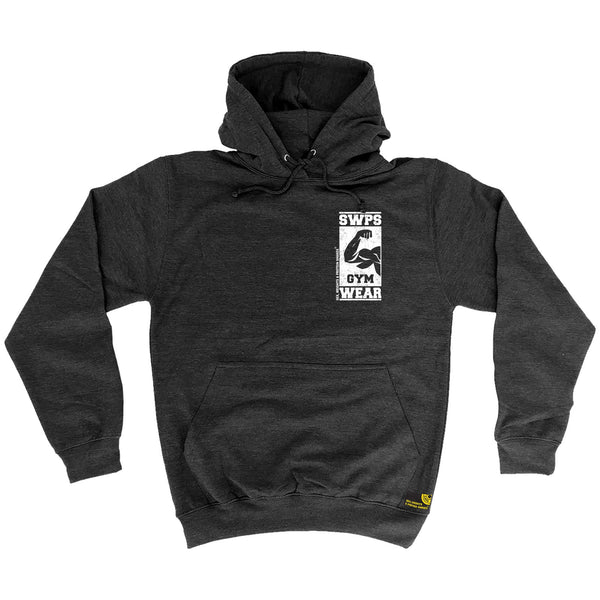 Gym Wear ... Breast Pocket Design Hoodie