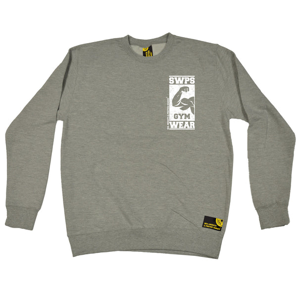 Gym Wear ... Breast Pocket Design Sweatshirt