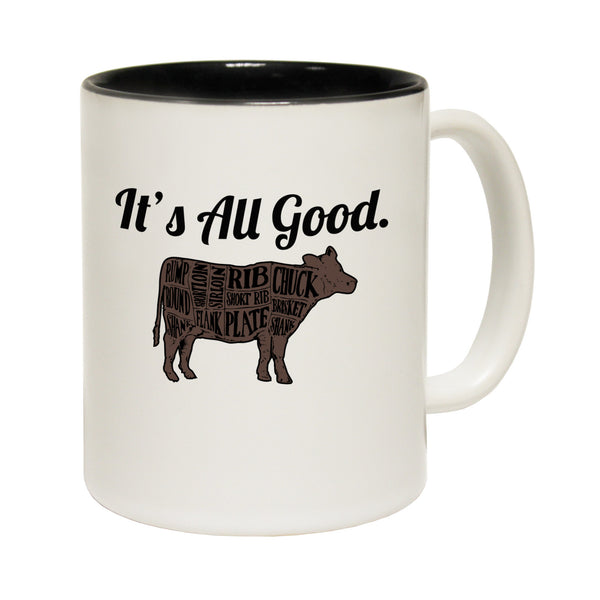 New It's All Good ... Cow Ceramic Slogan Cup