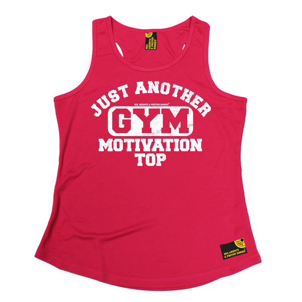 Just Another Gym Motivation Top Girlie Performance Training Cool Vest