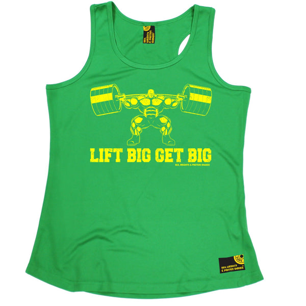 Lift Big Get Big Girlie Performance Training Cool Vest
