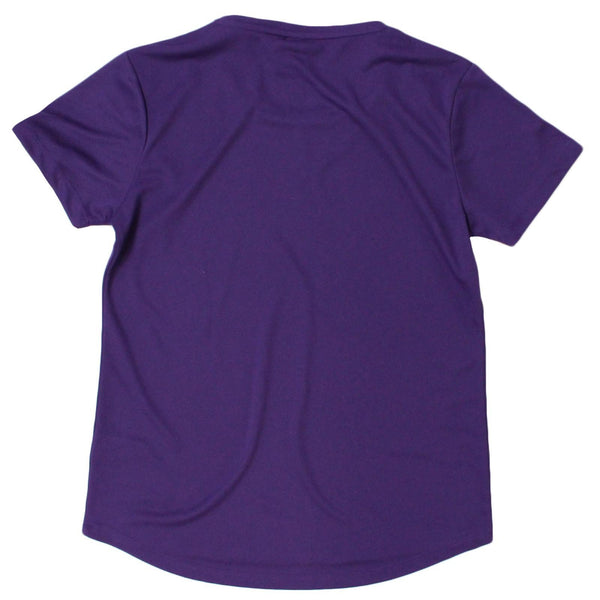 Women's SWPS - Curls For The Girls - Dry Fit Breathable Sports R NECK T-SHIRT