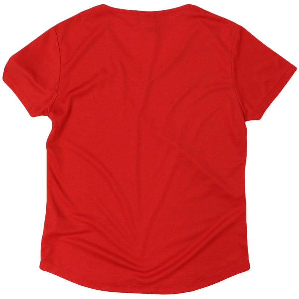Women's SWPS - Grab Life By The Bells - Dry Fit Breathable Sports V-Neck T-SHIRT