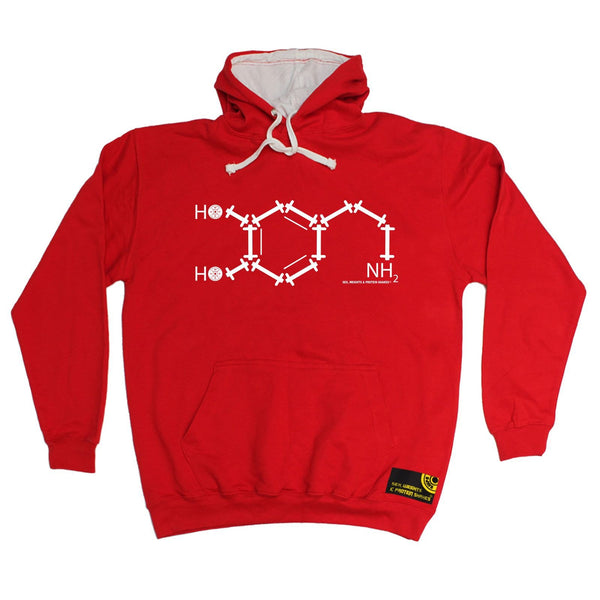 Sex Weights and Protein Shakes NH2 Chemical Formula Sex Weights And Protein Shakes Gym Hoodie