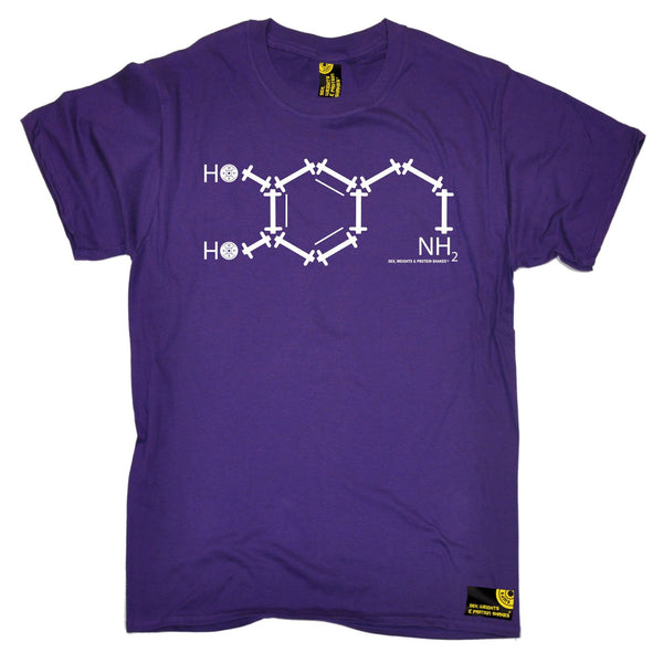 SWPS Men's NH2 Chemical Formula Sex Weights And Protein Shakes Gym T-Shirt