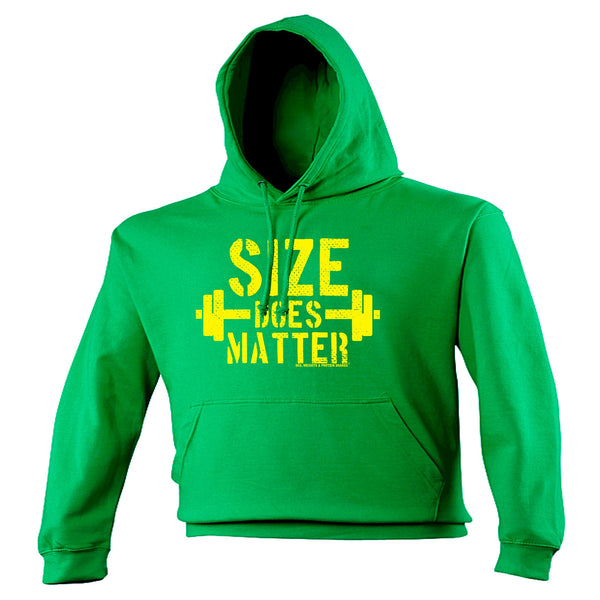 123t SWPS Unisex Men's Women's SIZE DOES MATTER - HOODIE