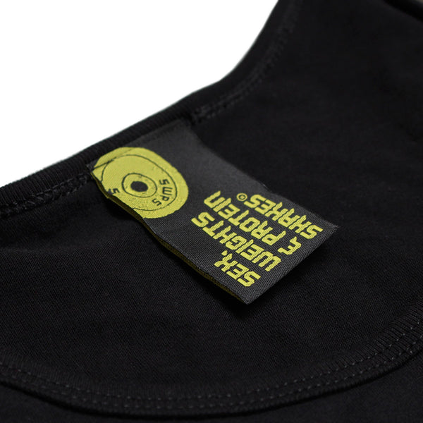 SWPS Your Workout My Warm-Up Sex Weights And Protein Shakes Gym Vest Top