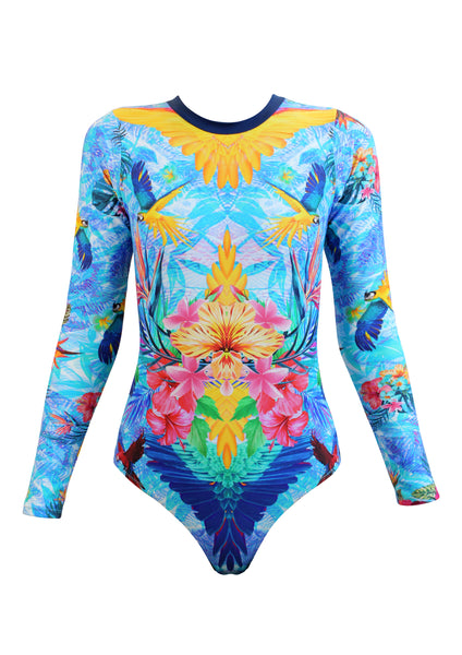 Andressa Long Sleeved Onepiece