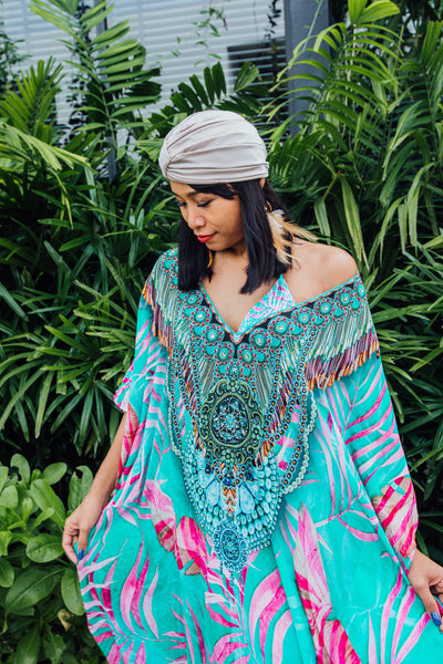 Frisco Maxi Kaftan - Resort Collection