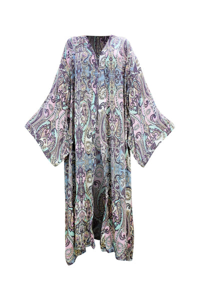 Maroon Bay Long Kimono - Resort Collection