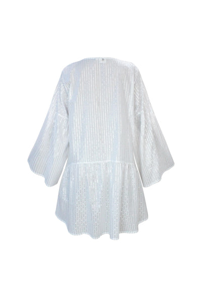 Emma Tunic White - Resort Collection