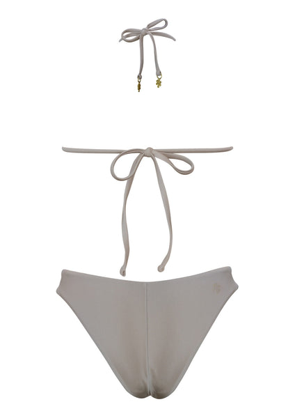 Paros Sand Sliding Triangle Top with Brazilian High Cut Bottom