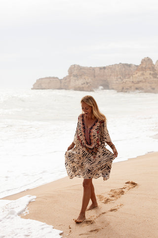 Paros Short Kaftan - Resort Collection