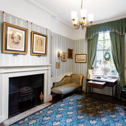 Image of morning room, Charles Dickens Museum