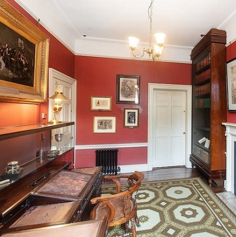 Image of study at the Charles Dickens Museum
