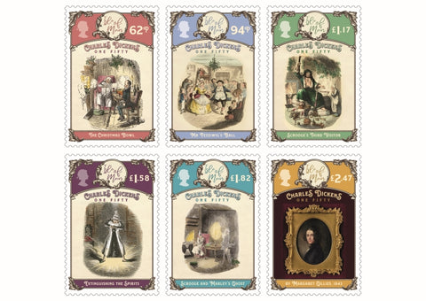 Dickens150 Stamps