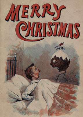 A nightmare Plum Pudding, possibly Edwardian