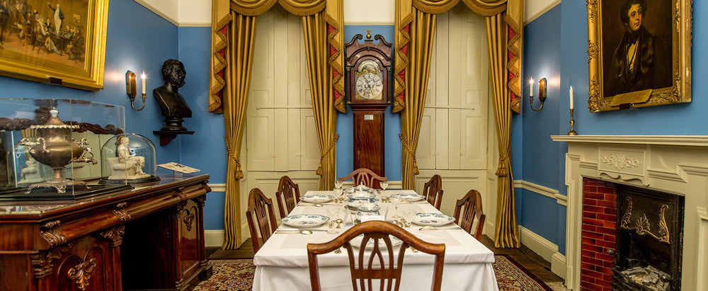 Dining Room at the Charles Dickens Museum