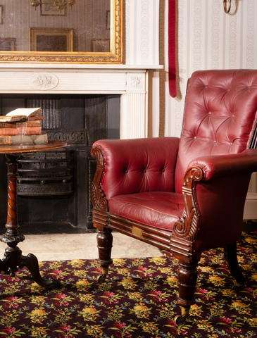Armchair in the Drawing Room of 48 Doughty Street