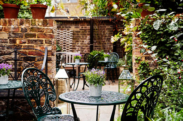 Charles Dickens Museum Cafe Garden