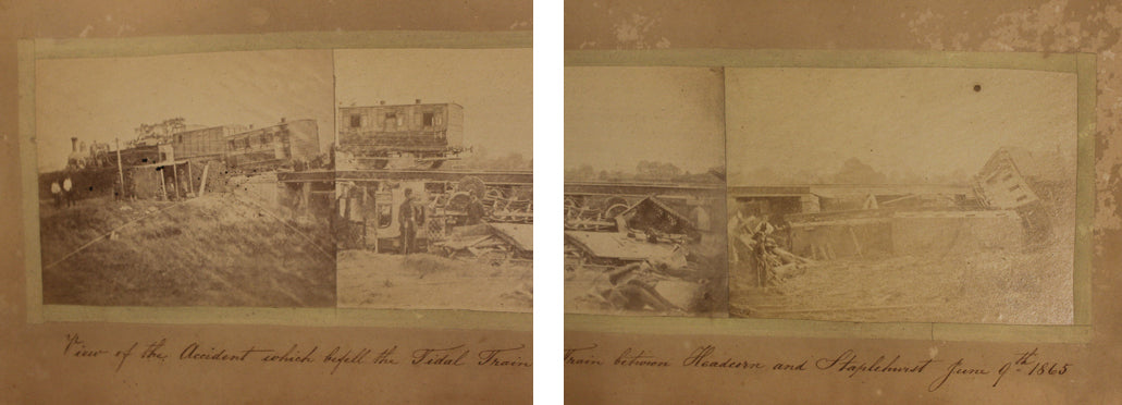 Close-ups of the original photographs. Charles Dickens Museum collection,DH753.