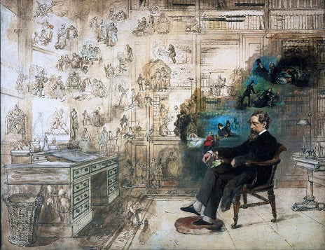 Dickens's Dream by R W Buss