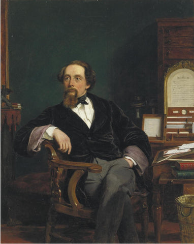 Dickens Oil Painting by William Powell Frith