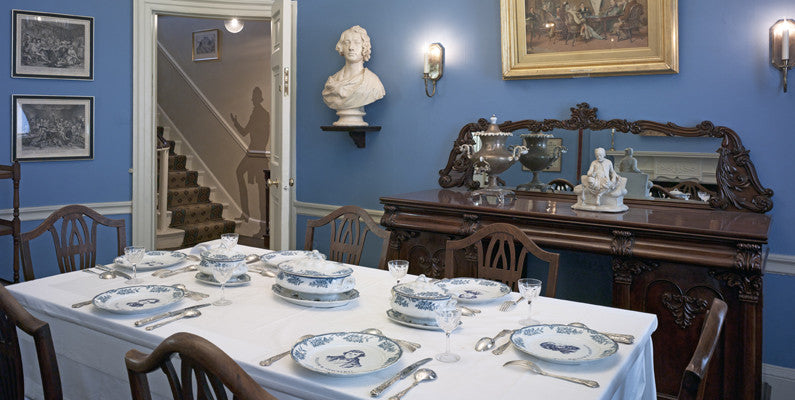 Dining Rooom at 48 Doughty Street
