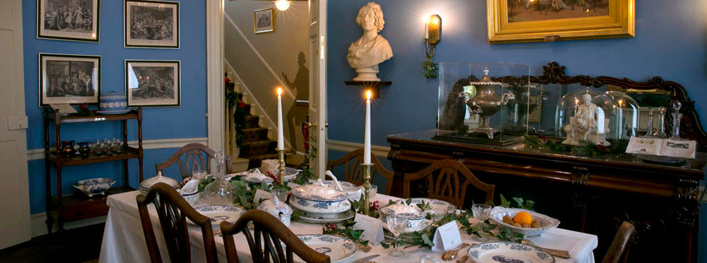 Dining Room at Charles Dickens Museum
