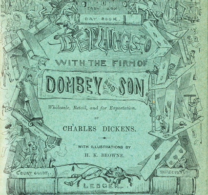 Dombey and Son 1st edition monthly part