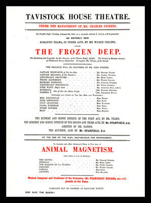 Playbill for Frozen Deep