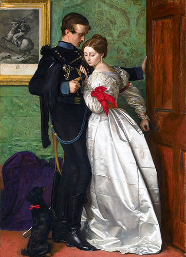 Katey Modelled in John Everett Millais's 'The Black Brunswicker' (1860)