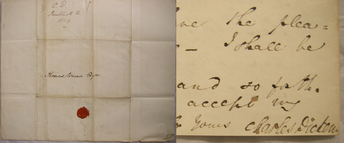Letter from Charles Dickens to Thomas Beard, 29 November 1834
